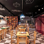 Coffee house with board games