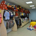 Shop of a kidswear