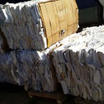 Business on collecting waste paper