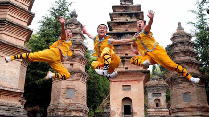 China - Shaolin Temple - Kungfu school