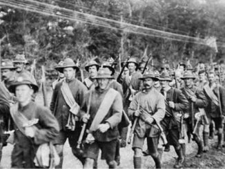 The disappearance of the Norfolk battalion