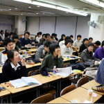 The higher education in South Korea