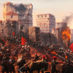 Siege and falling of Constantinople