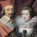 Cardinal Richelieu and Anna Austrian