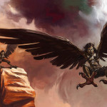 Mysterious winged beings